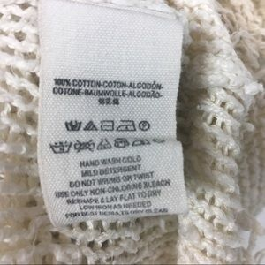 Free People Sweaters - Free People | Cream Knit Sweater | Size XS